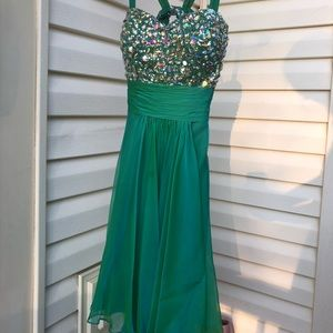 Dazzle Green Opal Dress